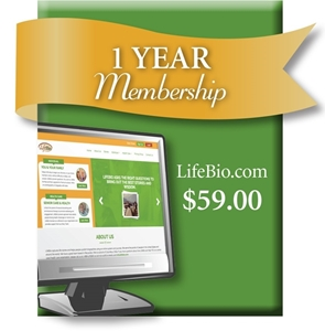 Picture of LifeBio.com One Year Web Membership