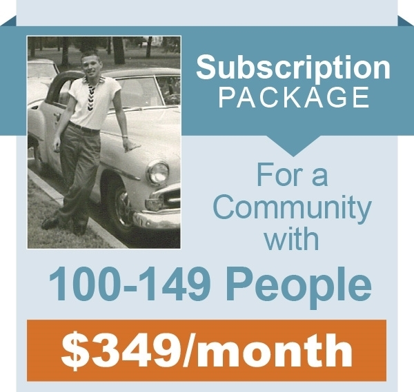 Picture of Monthly Subscription - 100 -149 People in Community