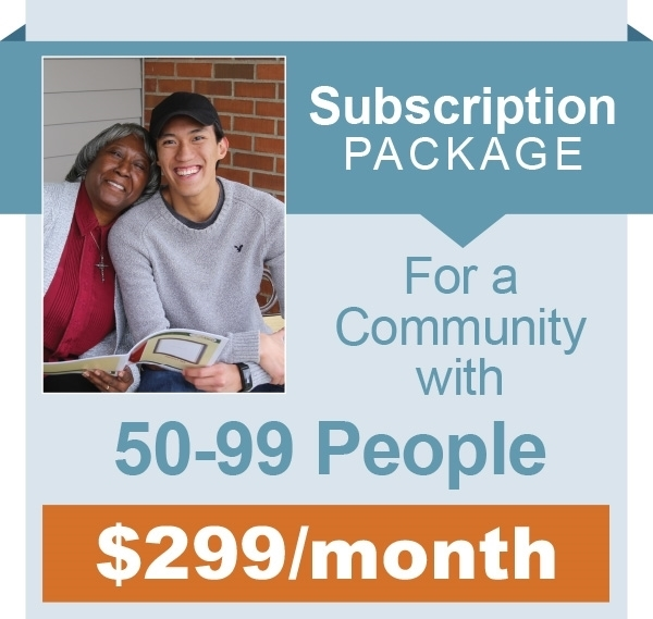 Picture of Monthly Subscription - 50-99 People in Community