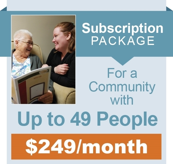 Picture of Monthly Subscription - Up to 49 People in Community