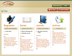 Picture of 2 Deluxe - Web Account & Life Story Book