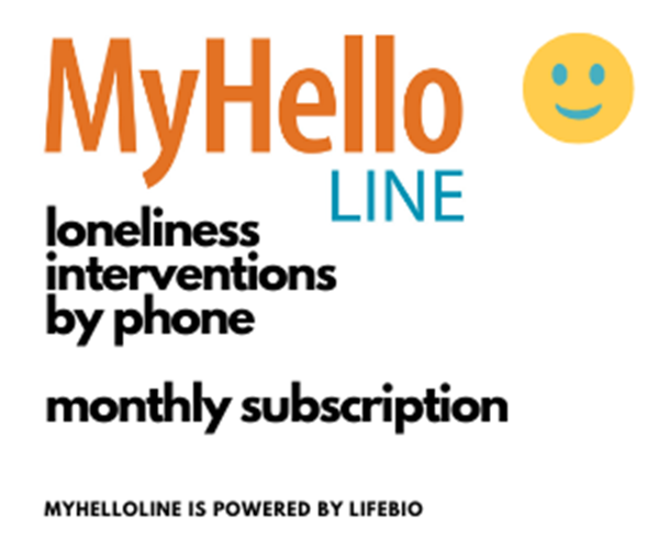Picture of MyHelloLine  - 15 min visits each week by phone