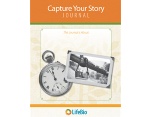 Picture of Capture Your Story Journal - 25 Questions