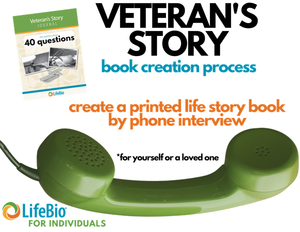Picture of Veteran's Story Book Creation Process