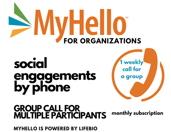 Picture of MyHello for Organizations - Group Call for Up to 50 People