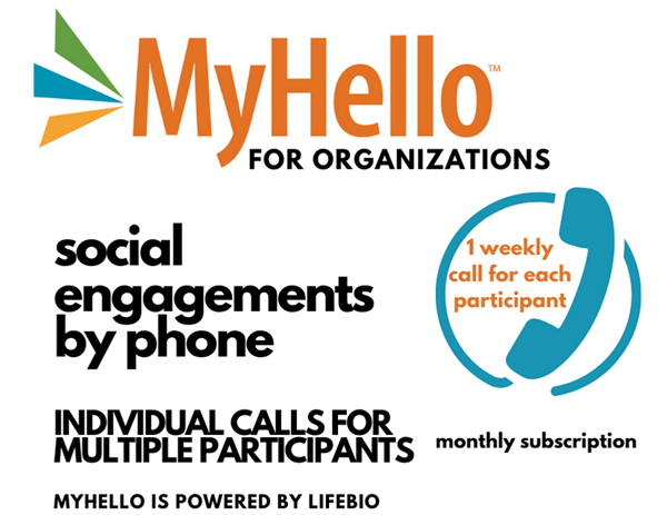 Picture of MyHello for Organizations - Individual Calls for Multiple Participants